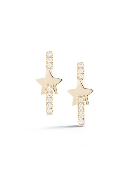 Livi Gold Star Earrings