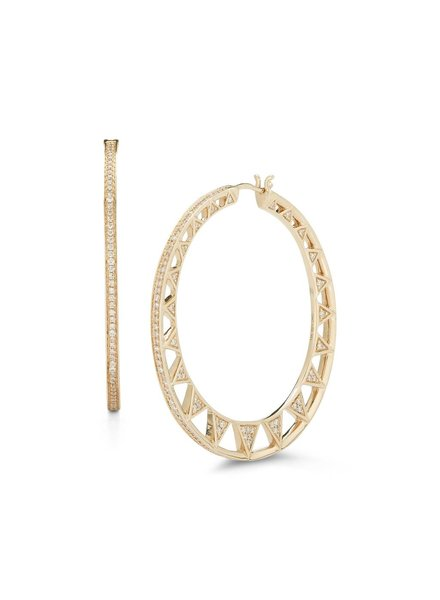 Emily Sarah Diamond Hoops