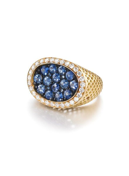Blue sapphire Dress Ring