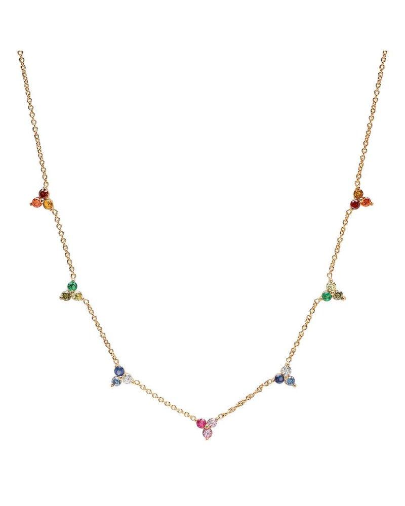 Tai Mini cluster ombre necklace