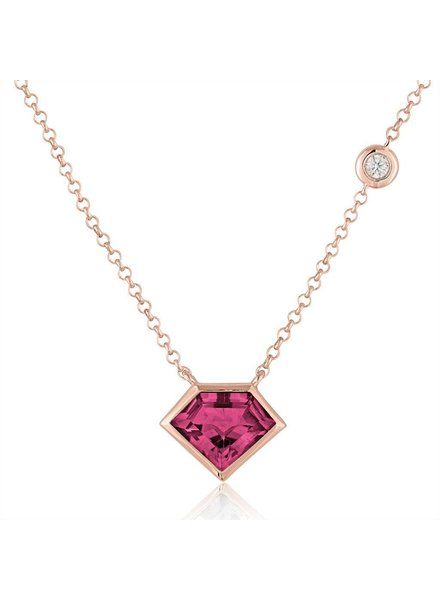 Julie Lamb Super Mini Pendant With Flying Diamond