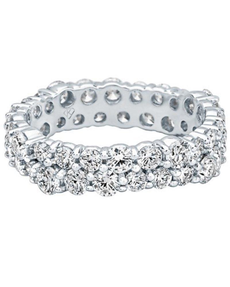 Kimberly Diamond Company Double Round Diamond Wedding Band