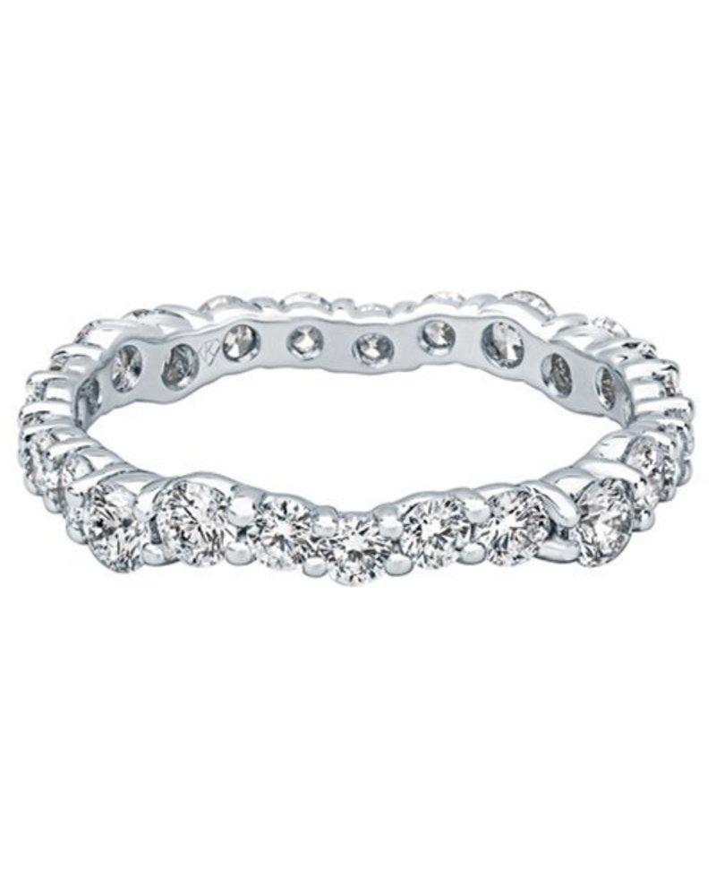 Kimberly Diamond Company Thin Diamond Wedding Band