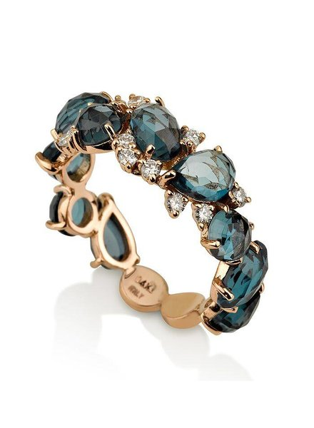 Inner Expressions Terra London Blue Topaz Ring