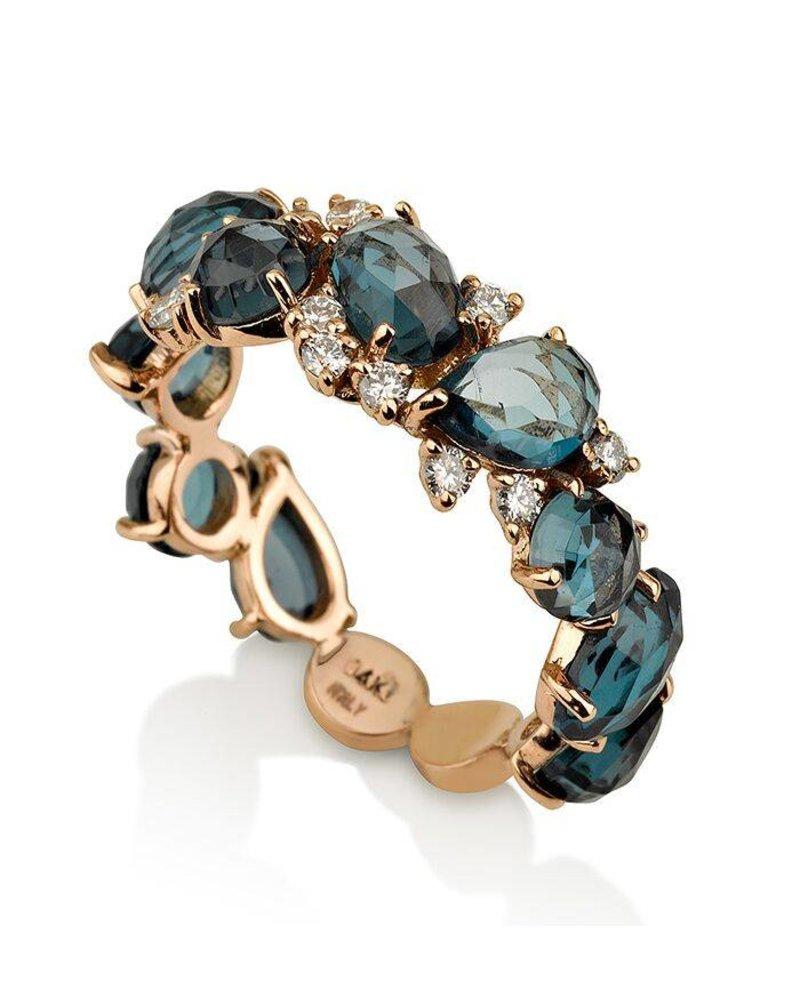 Inner Expressions Terra London Blue Topaz Ring