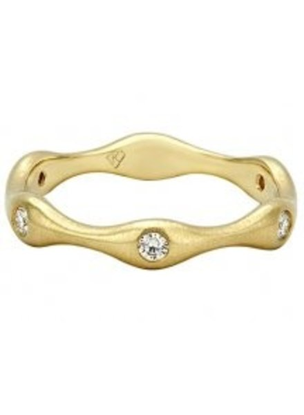 Kimberly Diamond Company The Wave Band YG
