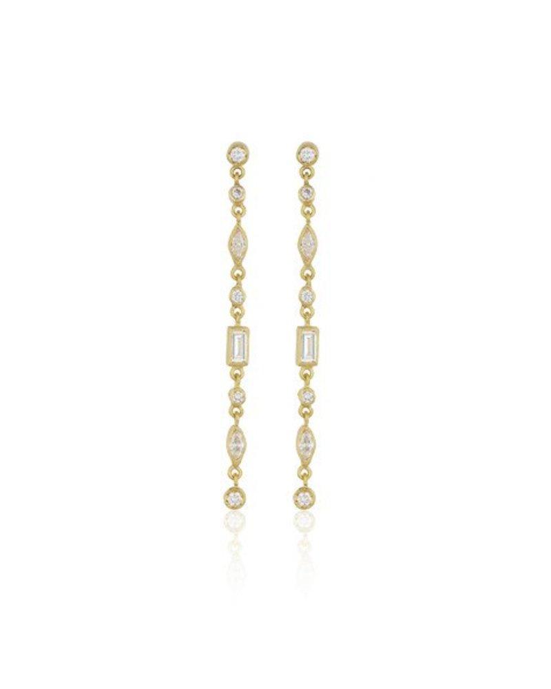 Lika Behar Gold Manavgat Earring