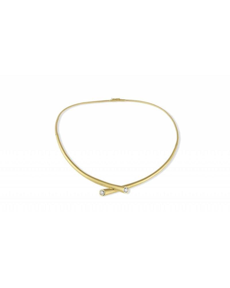 Carelle Whirl Diamond Necklace