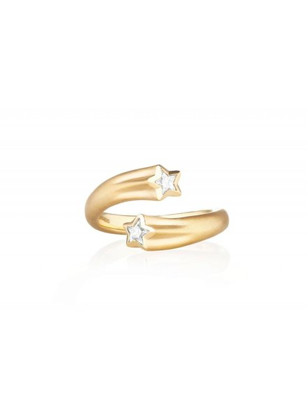 Carelle Whirl Shooting Star Ring