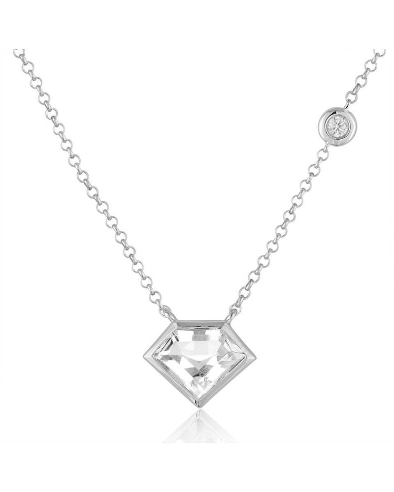 Julie Lamb Super Mini Pendent with Flying Diamond