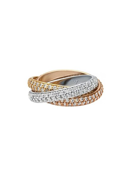 Kimberly Diamond Company Diamond Rolling Ring