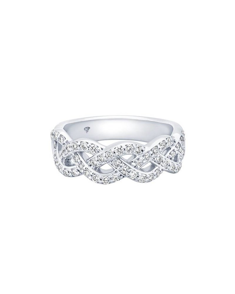 Kimberly Diamond Company Diamond Braid Band