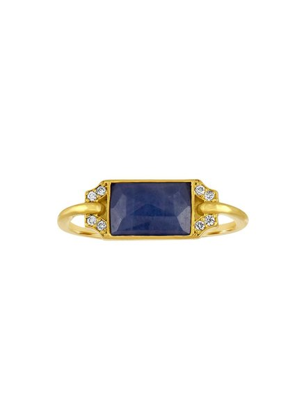 Amy Glaswand Petit Edge Ring