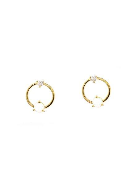 Tai Open Circle Earring