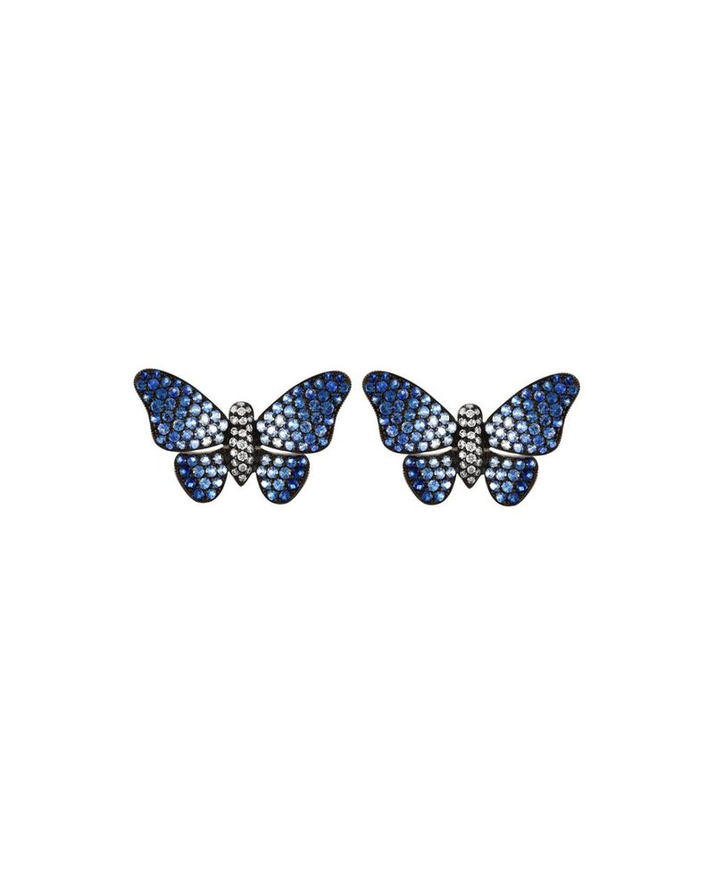 Jane Kaye Ombre Butterfly Earrings
