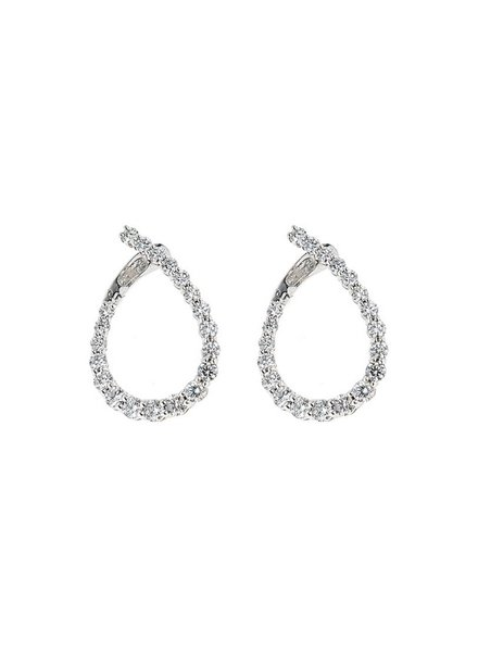 Jane Kaye Illusion Loop Earrings