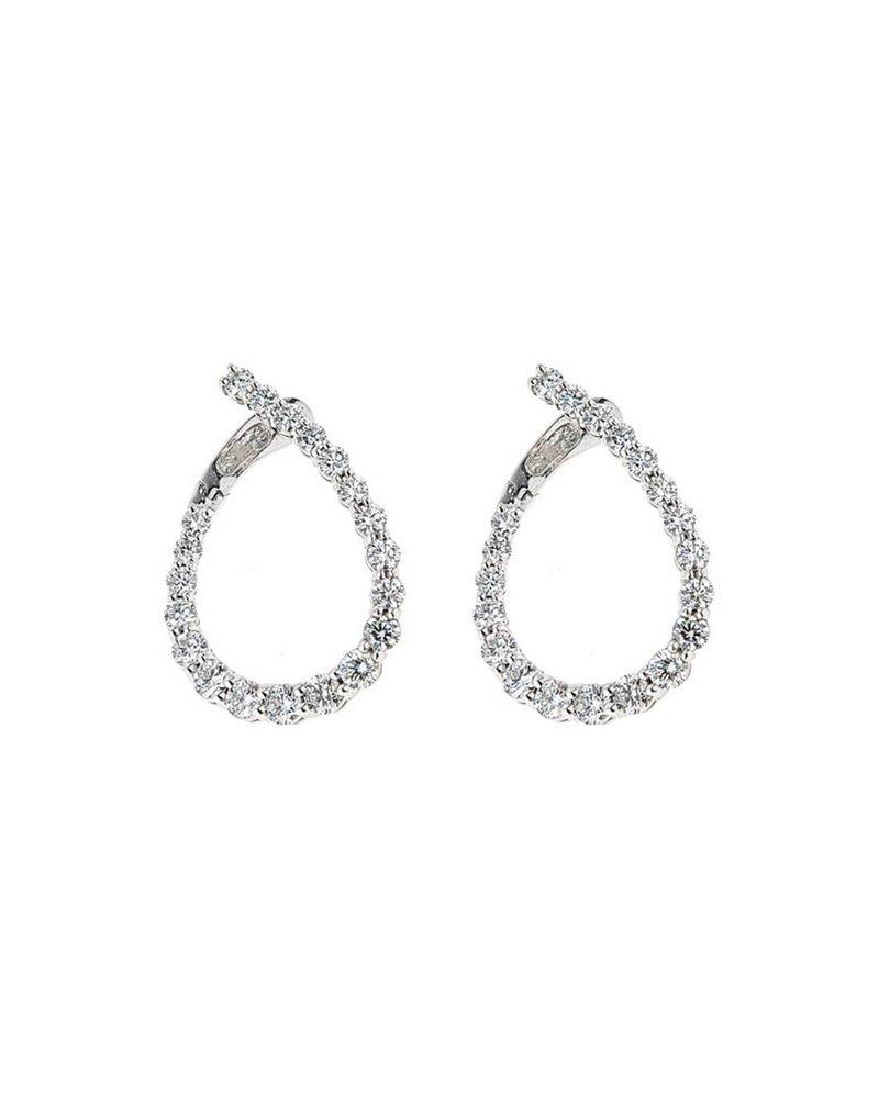 Jane Kaye Illusion Loop Earrings