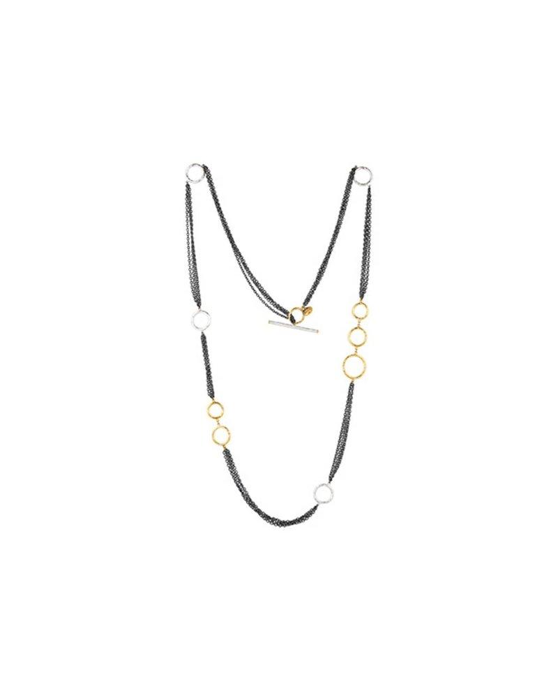 Lika Behar Bubbles Multi Chain Necklace
