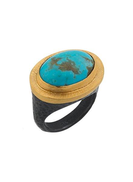 Lika Behar Kingman Turquoise Ring