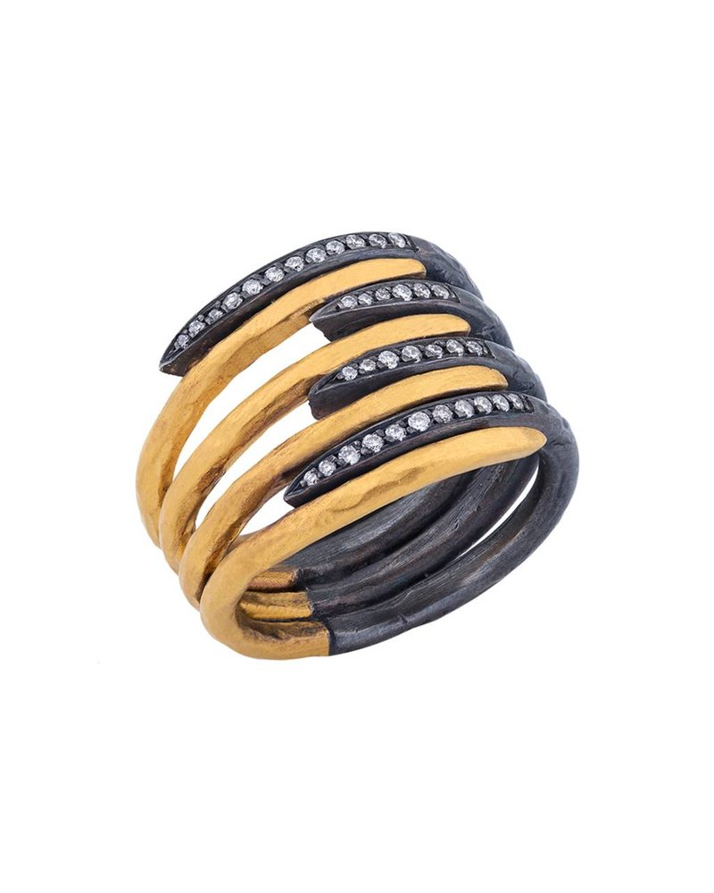 Lika Behar Zebra Ring