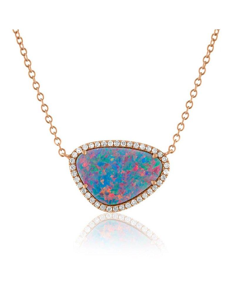 Jane Kaye Organic Opal Necklace