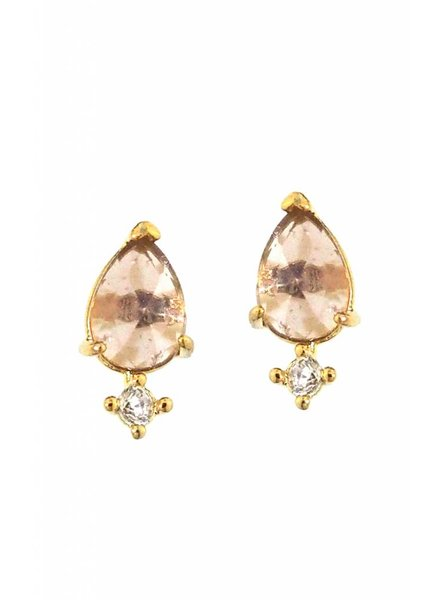 Tai Rock Crystal Studs