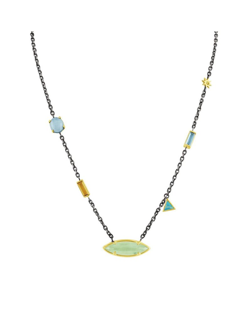 Amy Glaswand Mixed Stone Necklace
