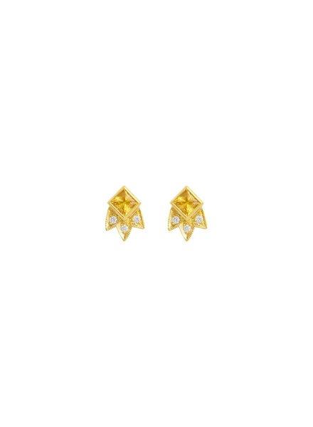 Starburst Stud Earring