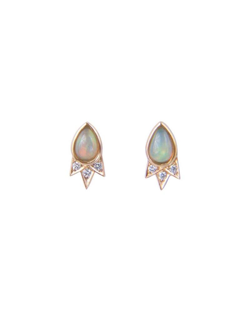 M. Spalten Jewelry Starburst Earring