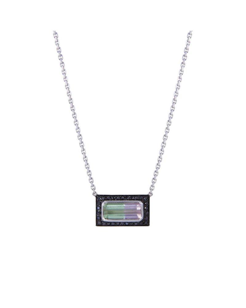 M. Spalten Jewelry Tourmaline Brick Necklace