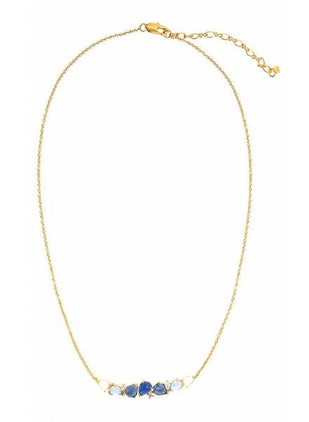 Tai Blue Ombre Sapphire Necklace