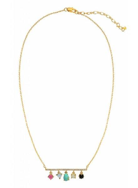Tai Multi Stone Necklace