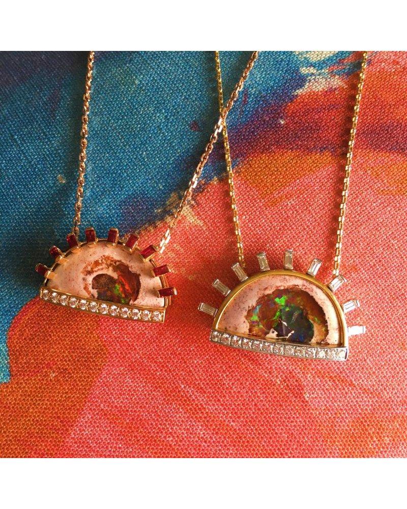 M. Spalten Jewelry Sunburst Necklace