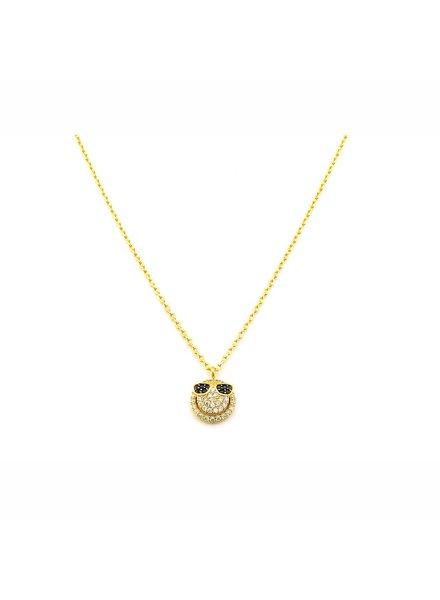 Yellow Gold Emjoi Necklace