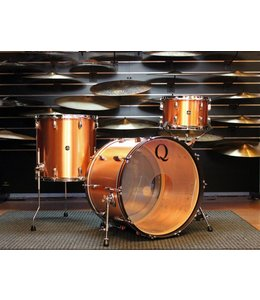 Q Drum Co Q Drums Copper 3pc Shellpack