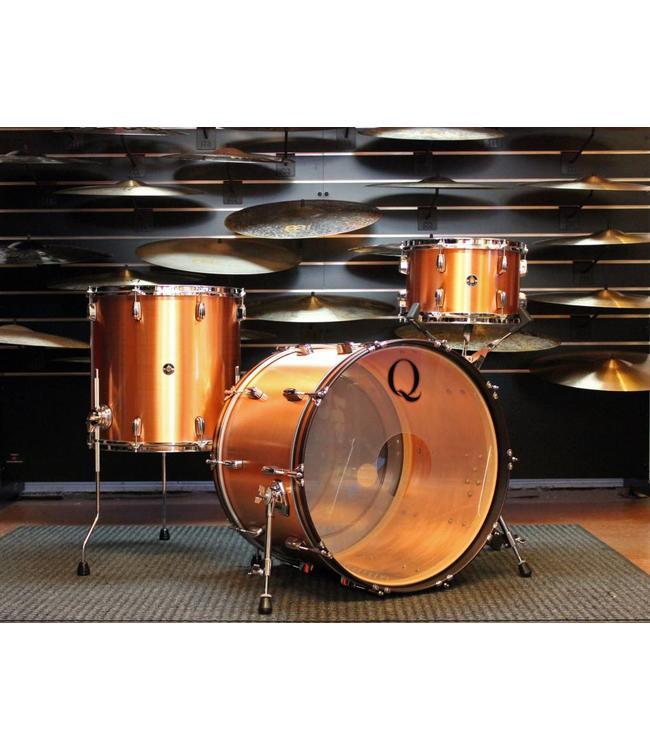 Q Drum Co Q Drums Copper 3pc Shellpack