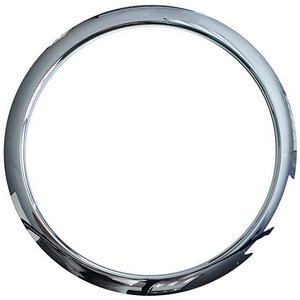 BASS DRUM O'S Bass Drum O's Bass Drum Port 5 in Chrome