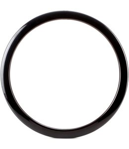 BASS DRUM O'S Bass Drum O's Bass Drum Port 6 in Black