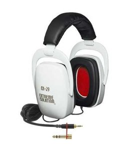 Direct Sound Direct Sound Extreme Isolation Headphones (-29dB iso) White Limited Edition