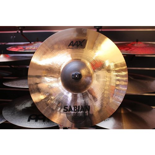 "Sabian Sabian 16"" AAX X-Plosion Crash Brilliant Finish"