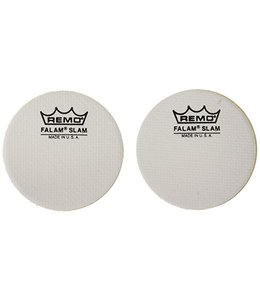 Remo Remo 2.5 in Diameter Falam Slam Impact Pad 2 Piece Pack
