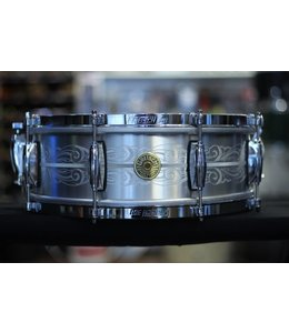 Gretsch Gretsch 135th Anniversary Engraved Aluminum Snare Drum