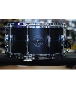 Gretsch Gretsch 7 x 14 in Limited Edition 18 of 50 Black Aluminum Snare Drum w/Dial Throwoff