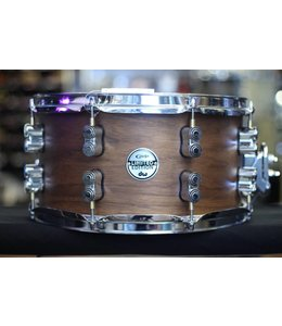PDP PDP 7x13 in Limited Edition 20-Ply Maple/Walnut Shell with Natural Satin Finish Snare Drum