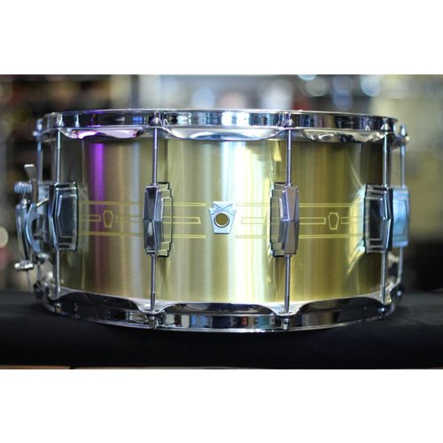 Ludwig Ludwig 7x14 Heirloom Brass Snare Drum