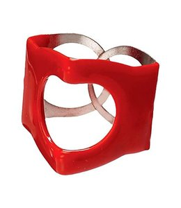 PinchClip Cymbal Top - 3pc (Red)