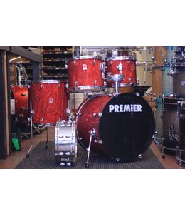 PREMIER Used 5Pc Premier Red Drum Kit W/ Snare