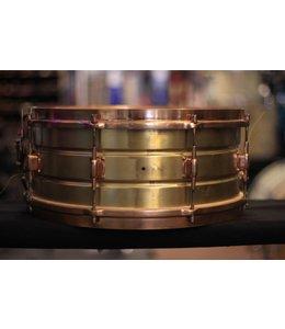 Leedy Vintage Leedy 20s-30s Elite Brass Snare Drum
