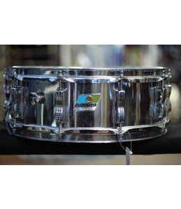 "Ludwig Used Ludwig Chrome Over Maple 14"" Snare Drum"
