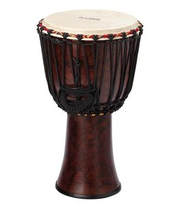 TYCOON Tycoon 12 in Star Glass Djembe - Rope-Tuned